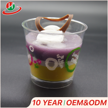 Wholesale food grade 6 oz jelly packing plastic jelly cup ice cream cups from Guangzhou manufacturer
