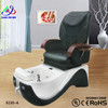 Cheap chocolate manicure spa massage pedicure chair stool/simple pedicure chair/spa pedicure chair with magnetic jet KM-S135-6