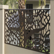 laser cut fencing panels fence security fence