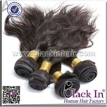 5A Top Grade Indian Remy Human Hair Ponytail mongolian virgin hair weft
