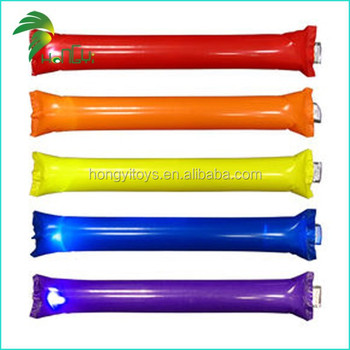 Cheering inflatable clappers/balloon clappers/inflatable sticks