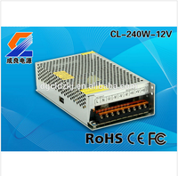 240W 12V 20A Constant Voltage Switch Mode Power Supply With CE RoHS FCC
