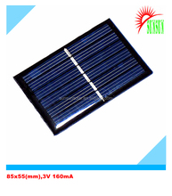 Epoxy resin PET laminated mini 0.5W 3V solar cell