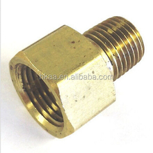 Brass Pipe Adapter Water Oil Air Gas Fuel Pipe Fitting.female male pipe adapter