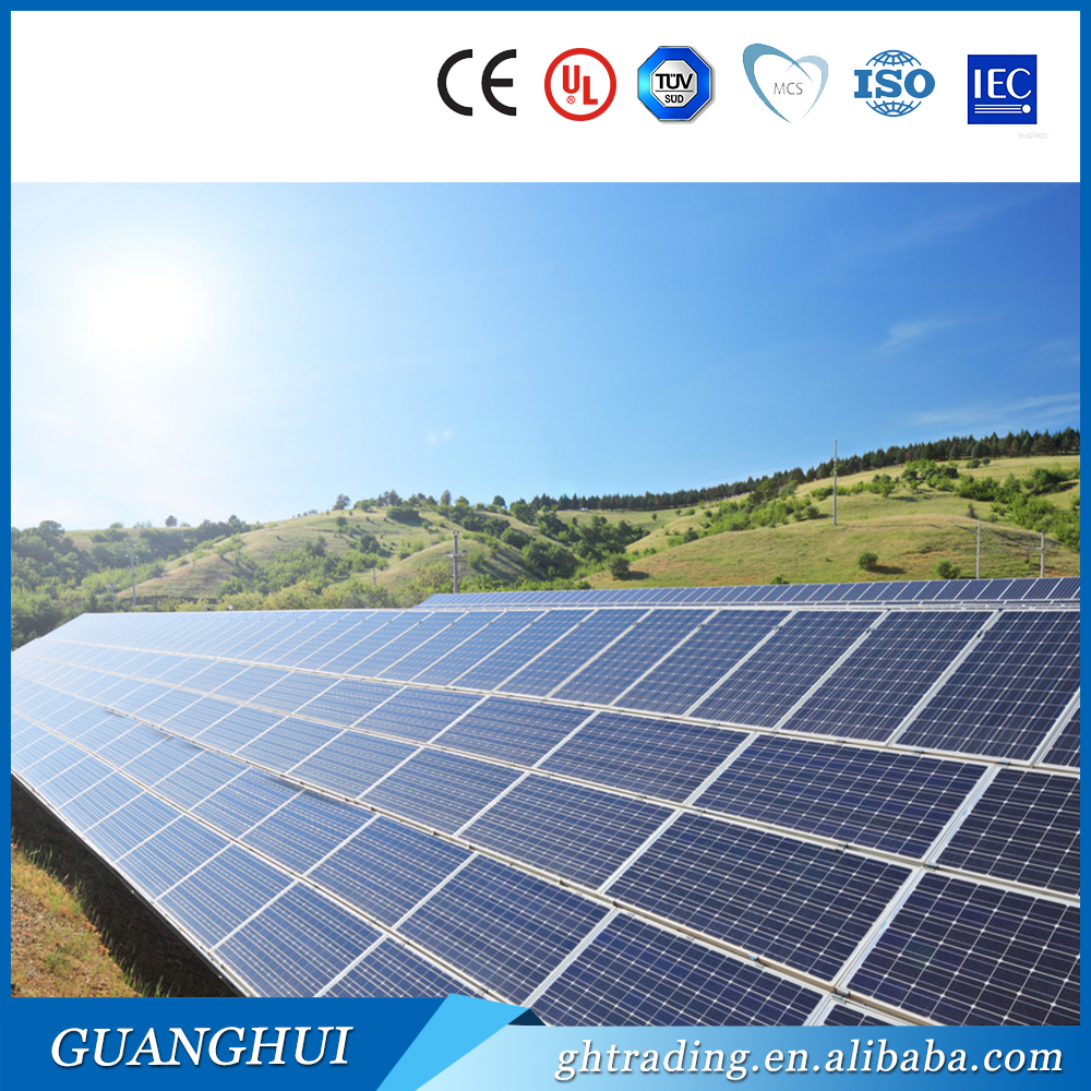 High Efficiency Best 3bb 300W polycrystalline solar cell panel With TUV 36v 300Watt Solar Module for factory price