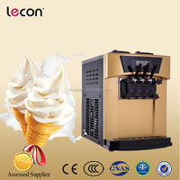 Hot Sale 3 Flavors Table Top Commercial Ice Cream Machine Soft with CE ISO Certifications