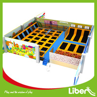 Reasonable Price for Air Bouncer Inflatable Gymnastic Square Bed Trampoline