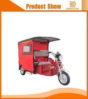 closed cabin passenger tricycle adult electic tricycle