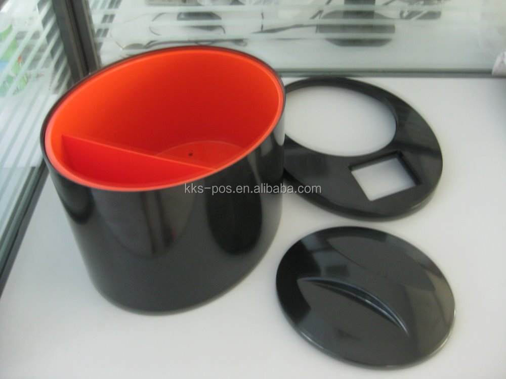 beer and alcohol plastic ice bucket with high quality