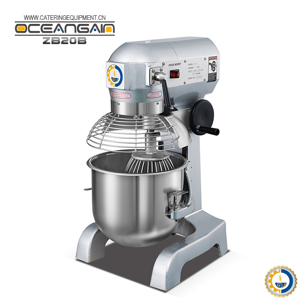 ZB20B SONCAP approval 20L Flour Spiral Cake Mixer for bakery from Guangzhou