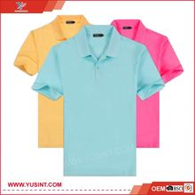 knitting garment online shopping 100% cotton sample polo shirt
