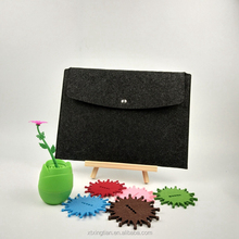 A4 Felt fastener document bag hard cover file envelope folder wholesale