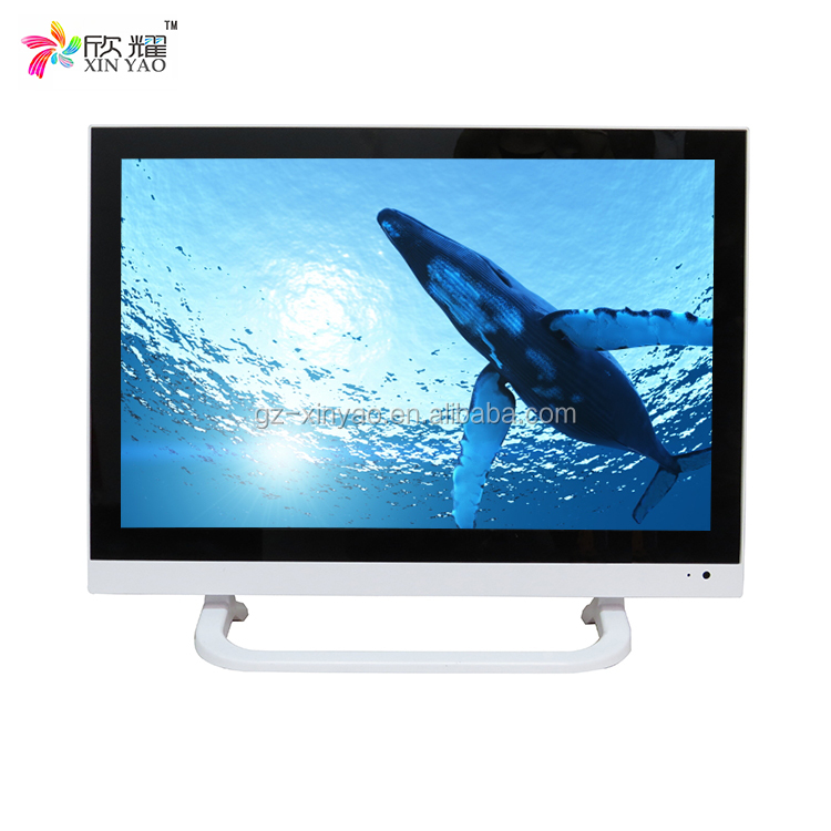 19 wide led tv television with dvb t2 digital tv