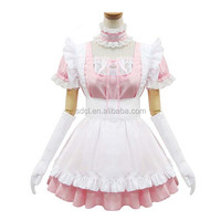 Japanese sexy pink maid dress uniform Japan fancy dresses for sale