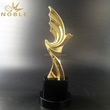 Noble Custom Made Metal Award Trophy on Black/Clear Crystal Base For Movie Character