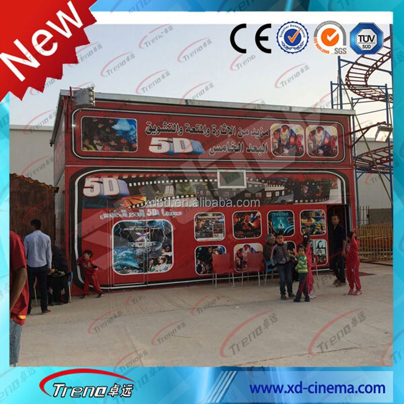 Amusement park 5d 6d 7d 9d 10D cinema game machine 6d cinema system