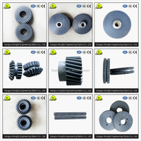 Pinion gears for paper shredder nylon gear parts transmission