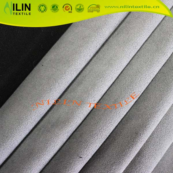 Hot Sale Polyester Polar Fleece Bonded Fleece Fabric For Jacket