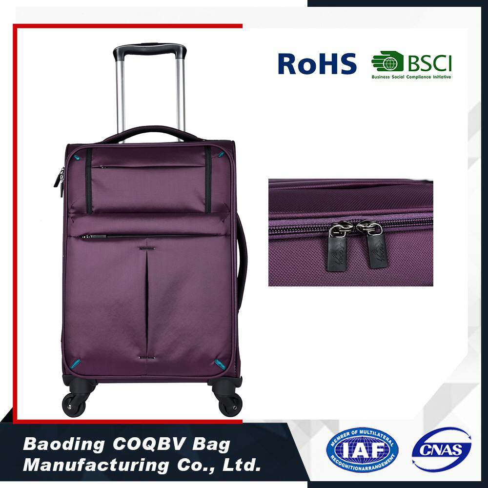 COQBV New Super light Aluminum Trolley travelling luggage set