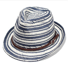 fashion men women Fedora Trilby Derby Hat straw wide brim summer Panama hat
