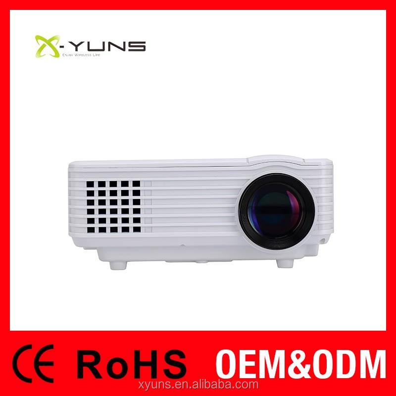 <X-YUNS>XH805 Wifi Projector 1080p,3d Glasses,Home theater Projectors