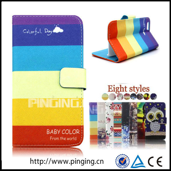 mobile phone case for iphone 6,leather phone case for iphone 6