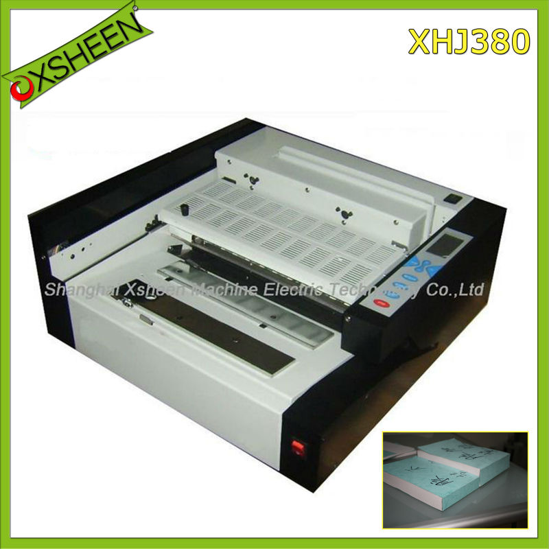 desktop book binder XHJ380, book binder machine, hot glue book binder binding machine