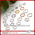 XD P051 925 sterling silver closed jump ring jewelry jump rings