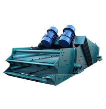 High Sieving Efficiency Sand Powders Granules Linear Vibrating Screen