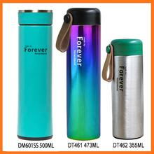 Wholesale custom bpa free novelty stainless steel thermal vaccum flask with laser logo