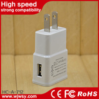 KC CE FCC ROHS USB Charger 50W 5-port Smart Travel Charger Cargador for Galaxy Note 2,3,4, Note Edge, S6 Edge S5 S4 S3 S2