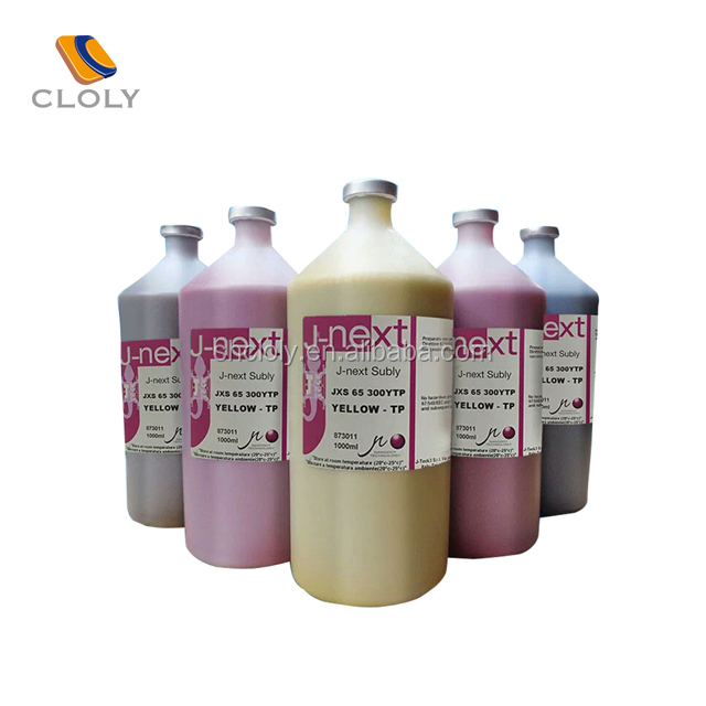 Italy J-NEXT sublimation ink for DX5 & DX7 JV33 MUTOH 1604 sublimation printing machine