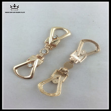 Wholesale high quality rhinestone metal shoe buckles chian accessories for women