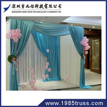 truss stand,modular exhibition booth,backdrop pipe and drape for wedding