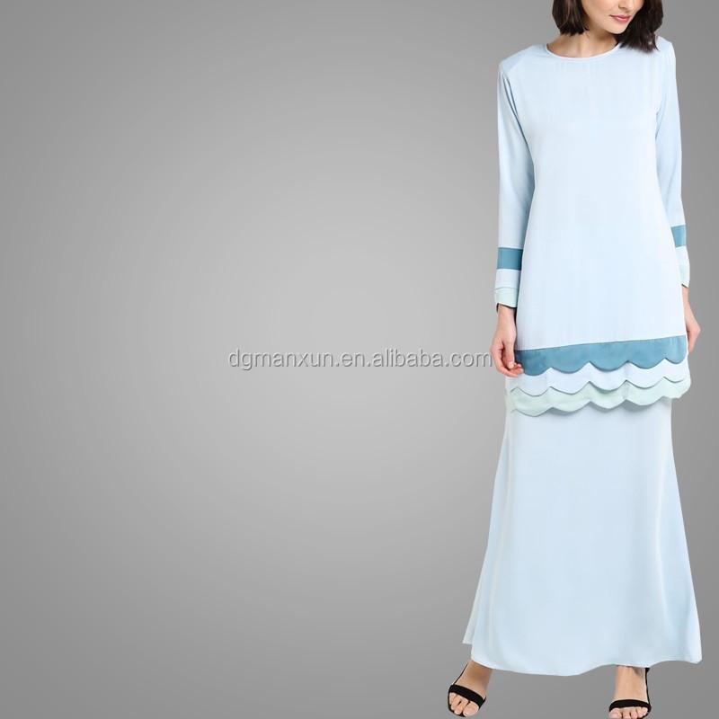 Wholesale Alibaba Muslim Women Fashion Kebaya Modern Stritching Color Baju Kebaya Baju Kurung Girls Dress Names With Pictures (4).jpg