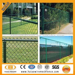 High quality wire mesh garden fence, garden used chain link fence for sale