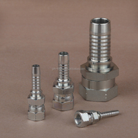 professional Chinese manufacturer of hydraulic jic female fitting with double hexagon