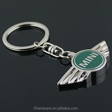 Mini Cooper 3D Metal Logo Car Key Chain Ring Marked Model Keychain