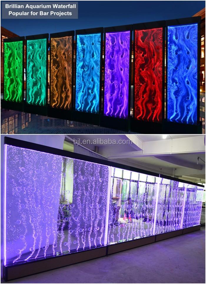 tourbillon bulle d 39 eau mur led acrylique chambre panneau de s paration cloison de bureau id de. Black Bedroom Furniture Sets. Home Design Ideas