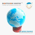 Montessori globe of the world parts for School Educational Toys