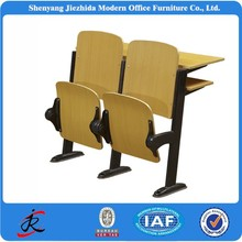 Classroom Desk Chairs for College Meeting Room Bend Wooden Lecture Theatre Chair