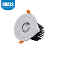 8 inch 15w 20w adjustable COB recessed lifud driver led dow nlight