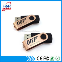 Hot Swivel USB Flash Drive with Metal Cover