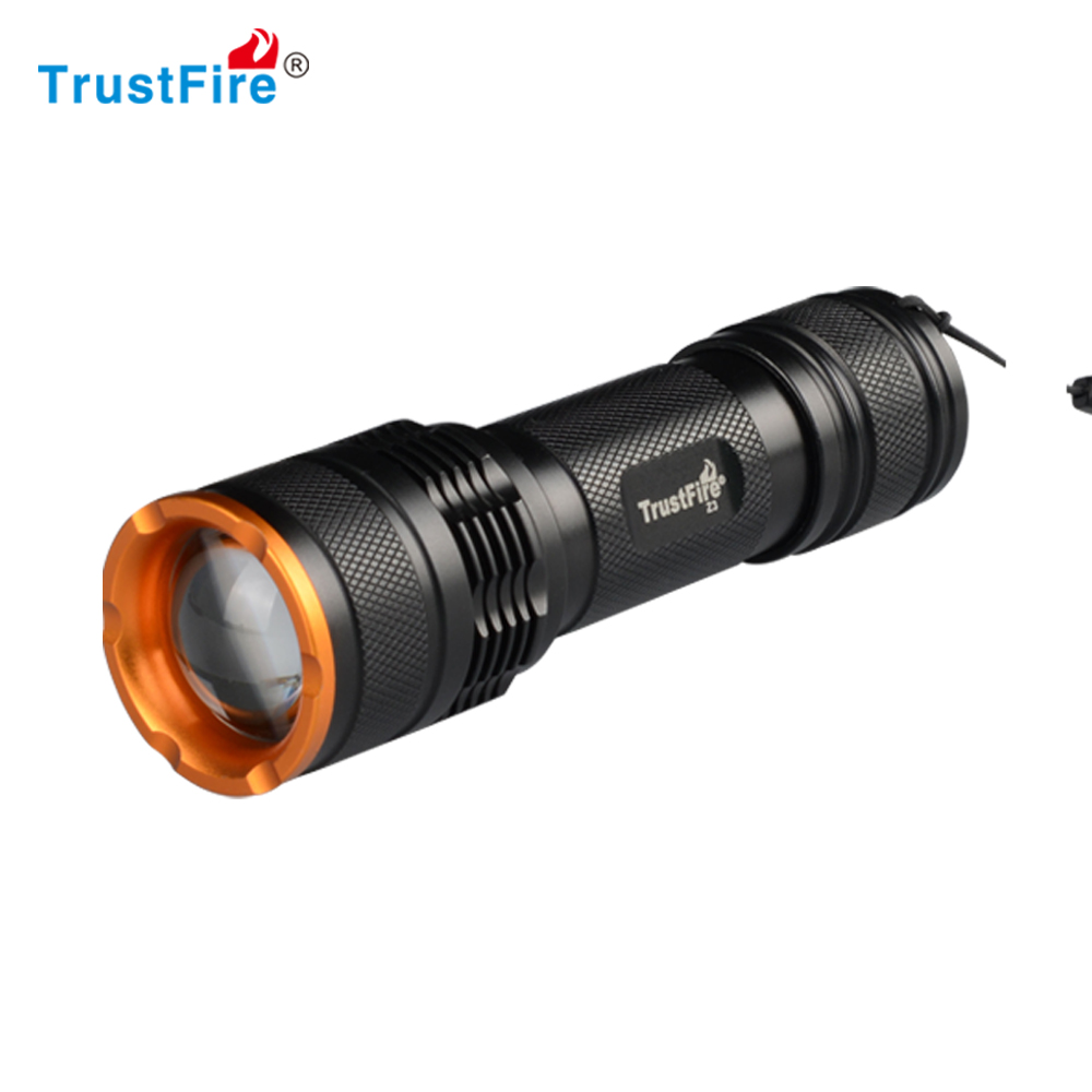 TR-Z3 AAA or 18650 battery <strong>cree</strong> T6 zoom led rechargeable tactical flashlight/2015 new wholesale <strong>cree</strong> flashlight