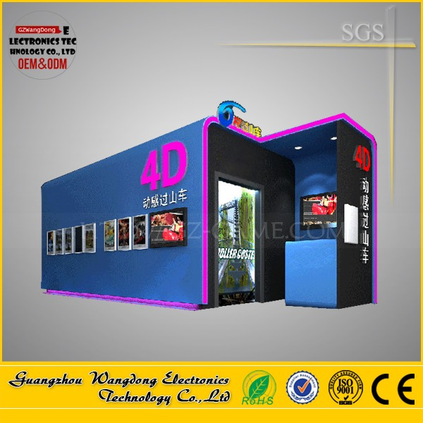 9d Simulator 5d Cinema Theater 6 Degrees Of Freedom/cinema with professional projector system