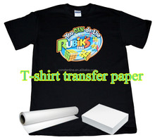 professional sublimation black t-shirt transfer paper wholesale in china