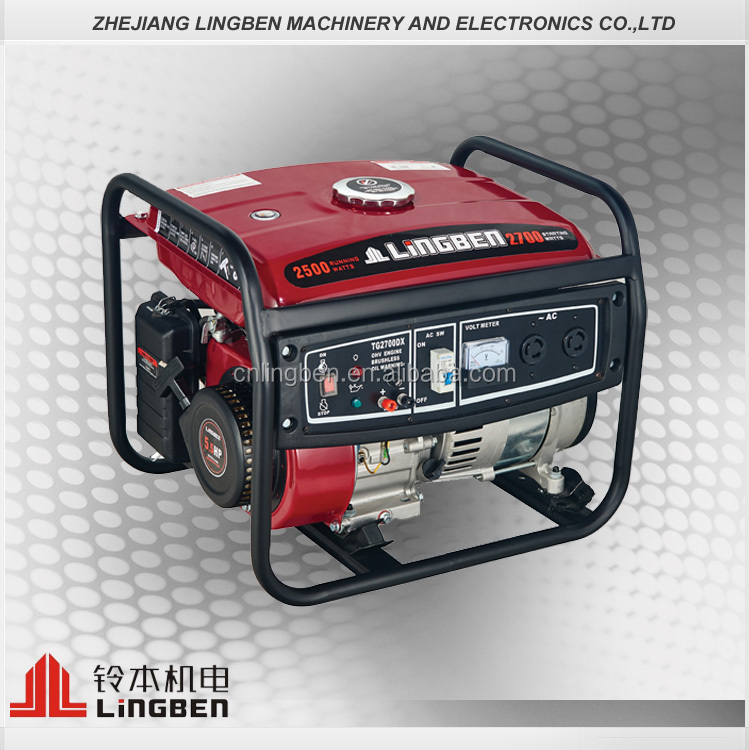 Lingben China 2kw yamaha portable generator machine for home use