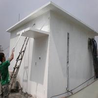 Acrylic roof powder coating