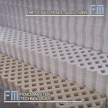 Fencemaster pvc lattice fence panel