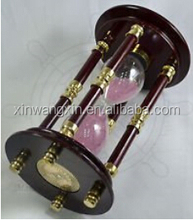 Custom Fashion Elegent Decorative 4 Hours Hourglass Sand Timer